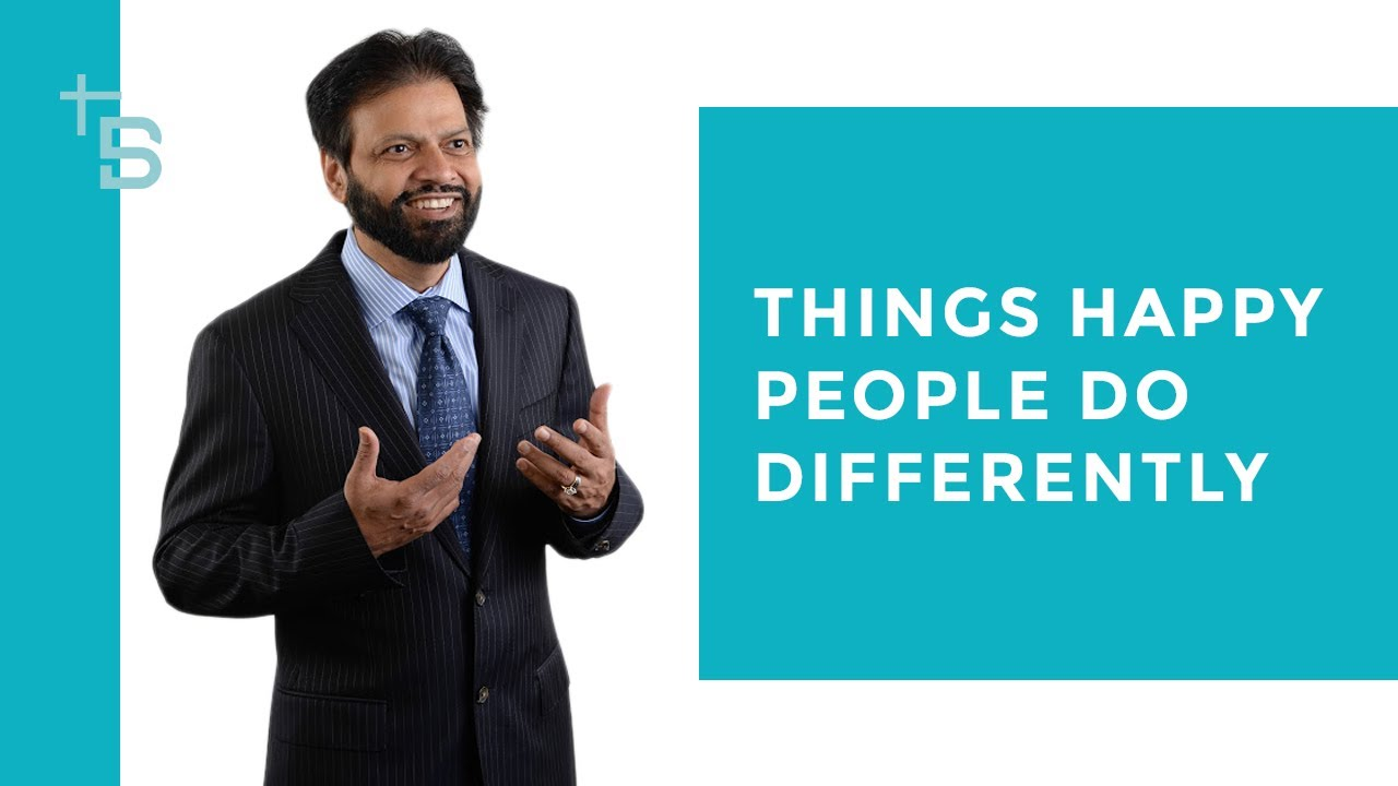 Things Happy People Do Differently